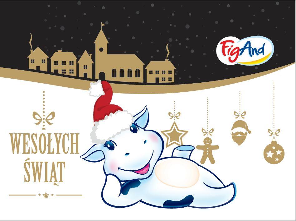 Smacznych Świąt pełnych miłości życzy FigAnd!